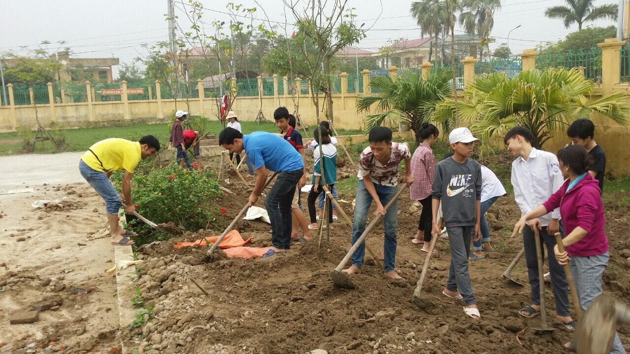 Quỳnh Phụ: Hưởng ứng chiến dịch làm cho thế giới sạch hơn
